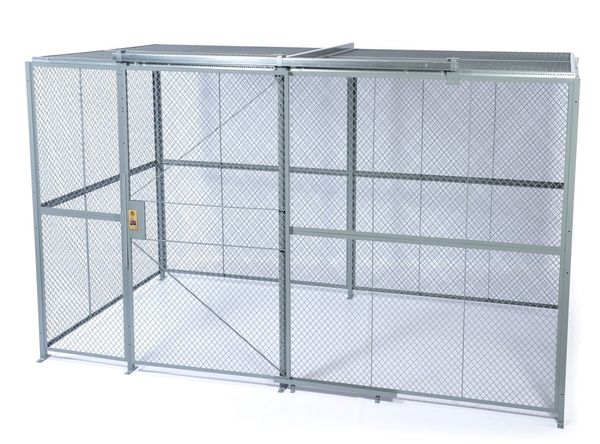 Sg welded wire mesh partitions security cages daco
