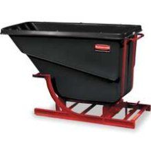 Rubbermaid Plastic Self Dumping Hoppers