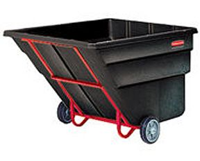 Rubbermaid Plastic Tilt Trucks