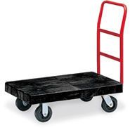 Rubbermaid Plastic Platform Trucks