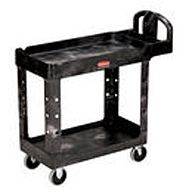 Rubbermaid Plastic Utility Carts