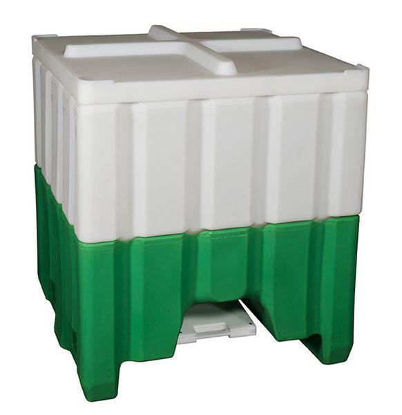 8096 52 Open Top Plastic Hopper Bin Daco Corp