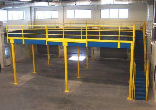 Custom Steel Mezzanines Equipment Platforms Daco Corp
