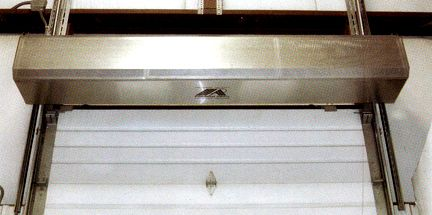 THS Air Curtain | Commercial Industrial Doors | DACO Corp