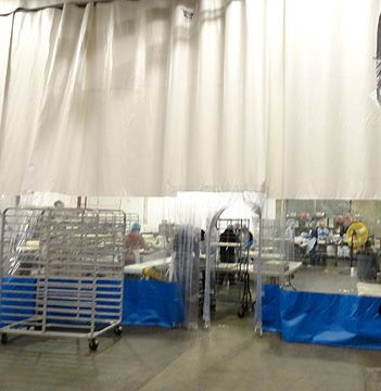 Food Processing Curtain Walls Commercial Industrial