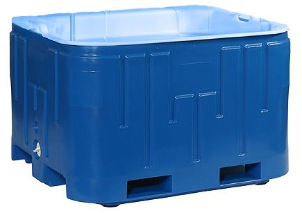 Ib2100 Display Insulated Container Base Fish Totes Daco