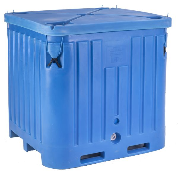 Pb2145 Full Sized Insulated Container Box Fish Totes