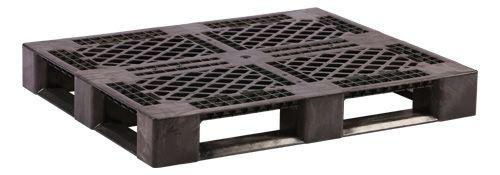 Racx Black Non Fda Rackable Plastic Pallets Plastic Skid