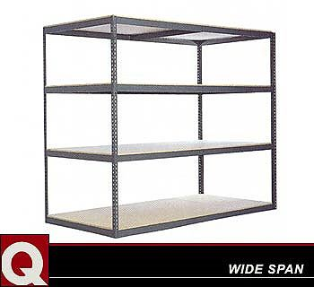 industrial boltless shelving unit click to enlarge - Metal Shelving Unit