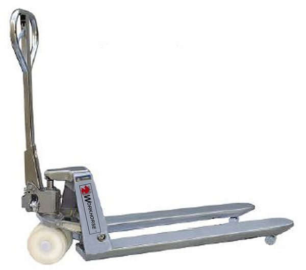 Stainless Steel Hand Jack : Wh stainless steel manual pallet jacks truck daco