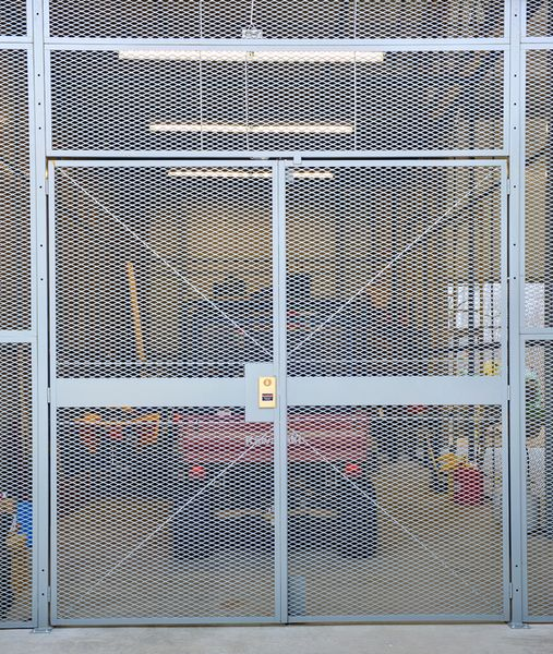 SG2000 Welded Wire Partitions | Wire Security Cages | DACO