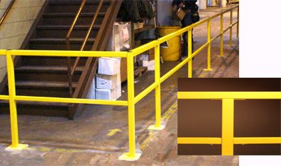 Industrial Hand Safety Railing Handrails Daco Corp