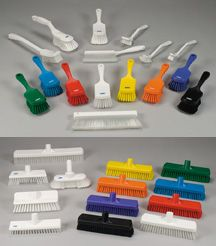 Remco HACCP Cleaning Brushes & Brooms