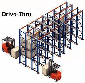 Drive In Thru Pallet Racking Systems Pallet Rack Repair