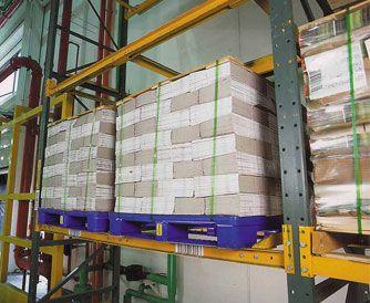 Rackable Plastic Pallets Plastic Skids Daco Corp