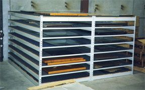 Bank Storage from Sheel Shelving