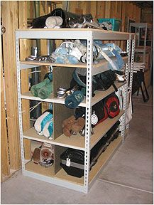 Gold Storage  from Sheel Shelving