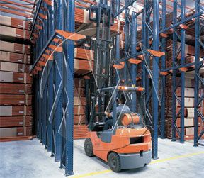 Drive Thru Pallet Racking Systems Click To Enlarge