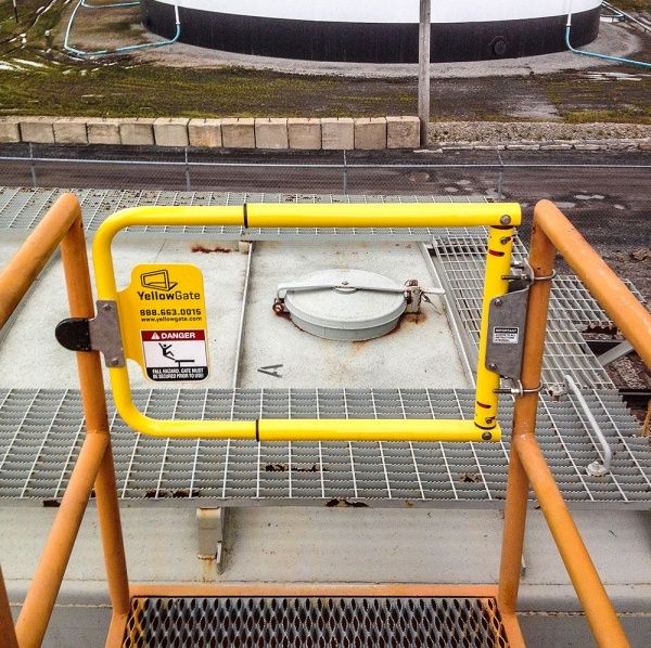 Yellowgate Industrial Safety Swing Gate Daco Corp