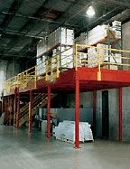 One Story Storage Mezzanine
