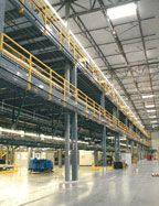 Two Story Distribution Center Mezzanine