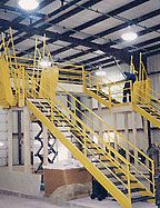 Work Platform Maintenance Area Mezzanine