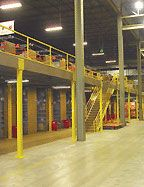 Distribution Center Steel Mezzanine