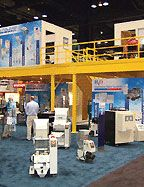 Trade Show Display; Office Space Mezzanine