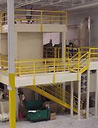 Two Story Process / Equipment Access Platform Mezzanine