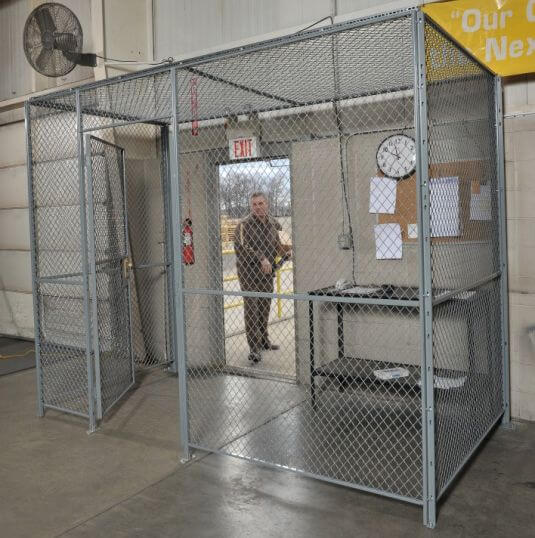 Fordlogan Woven Wire Partitions Wire Security Cages Daco