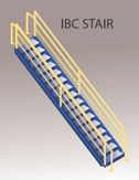 IBC stairways for modular offices