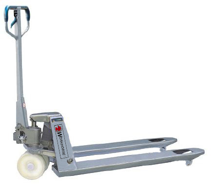 WH Galvanized Manual Pallet Jack
