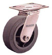 16XS062-S - Series 16 X-tra Soft Rubber (Flat) (XS) Industrial Casters
