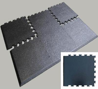 Puzzle Piece Rubber Floor Mats