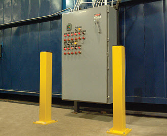 Safety Steel Bollards