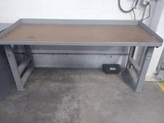 Work Benches with wood top