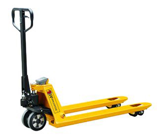 Manual Pallet Jacks with scales