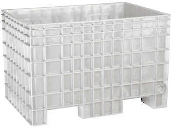 White BF422928 Reusable Bulk Containers