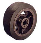NG062 Mold-On Rubber Tread / Iron Core (MR) Industrial Caster Wheels