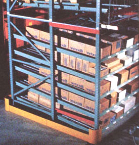Carton Flow Pallet Racking Systems
