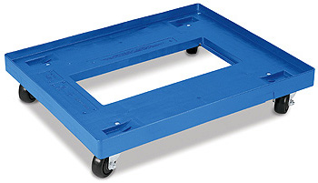 DY282305M5 - Plastic Dolly for 28x22 Bakery Trays