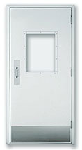 LXP 120 - Single Swinging - Manual, Fiberglass Commercial Doors