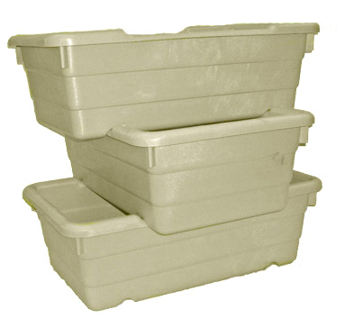 2008 Cross Stack Amp Nest Containers Plastic Totes Daco Corp