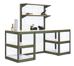 Teilhaber Custom Industrial Metal Shelving Unit Solutions