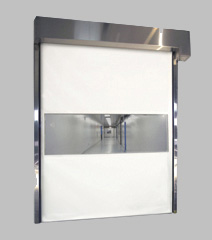 415 - Vinyl Overhead Roll Up Doors