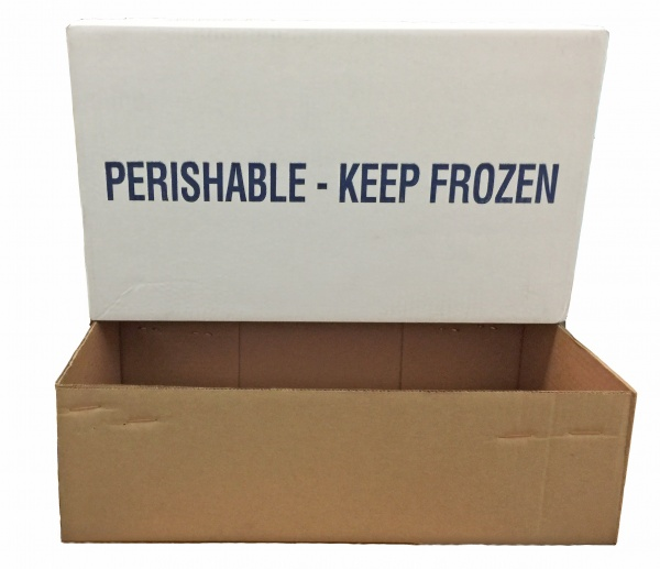 20# Crab Section Corrugated Shipping Box Top & Bottom