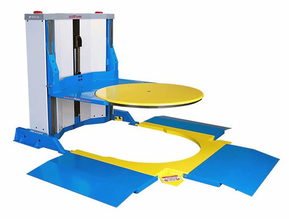 EZO-25E-3S - EZ Off Lifter Pallet Positioner Hydraulic Lift Tables
