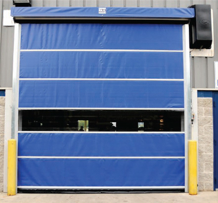 G2 High Performance Vinyl & Mesh Commercial Overhead Roll Up Doors