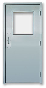 Excel 225SS - Single Swinging - Power, Stainless Steel Commercial Doors