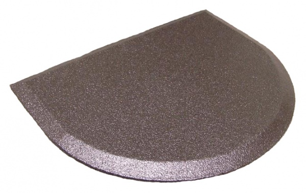 Semi Circle Hostess Station / Register Rubber Floor Mat